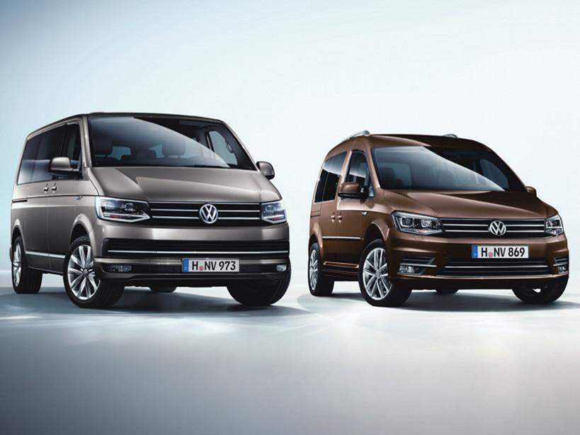 Image for Der neue Caddy und der neue Transporter.