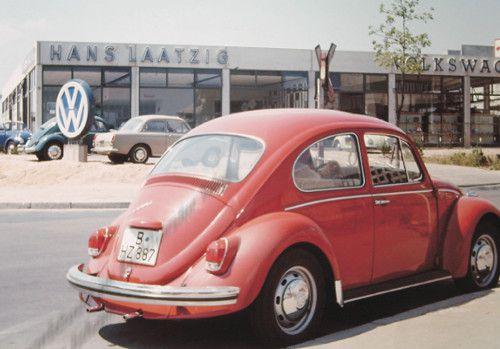 Firmengebäude 70er Jahre