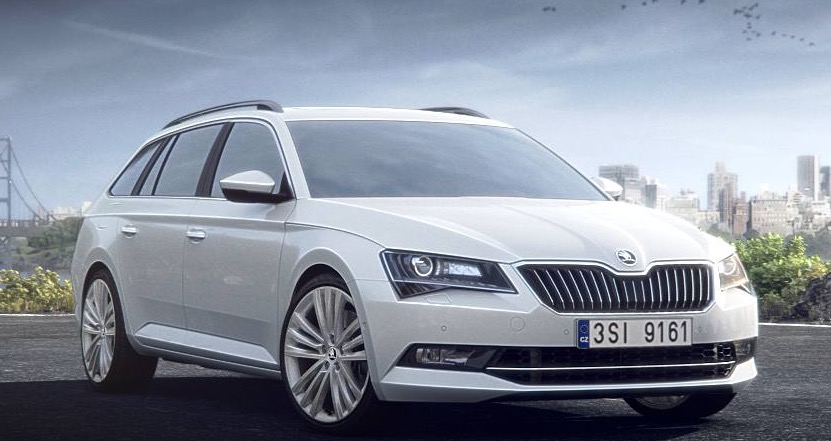 Image for DER NEUE ŠKODA SUPERB COMBI.
