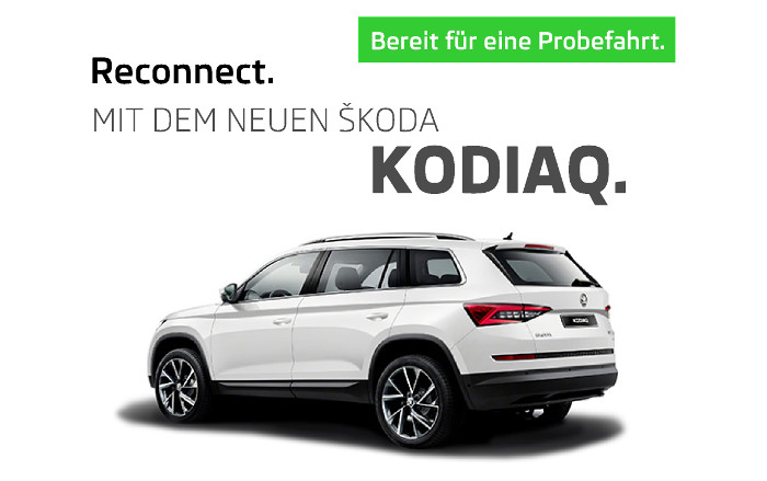 Image for Neues Terrain entdecken. Mit dem neuen Škoda Kodiaq.