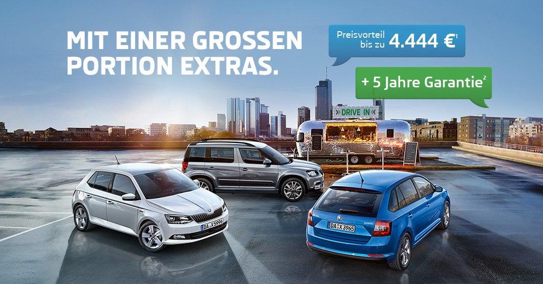 Image for Die Sondermodelle DRIVE von ŠKODA.