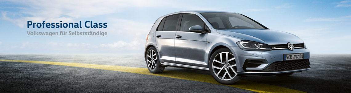 Image for Professional Class. Volkswagen für Selbständige.