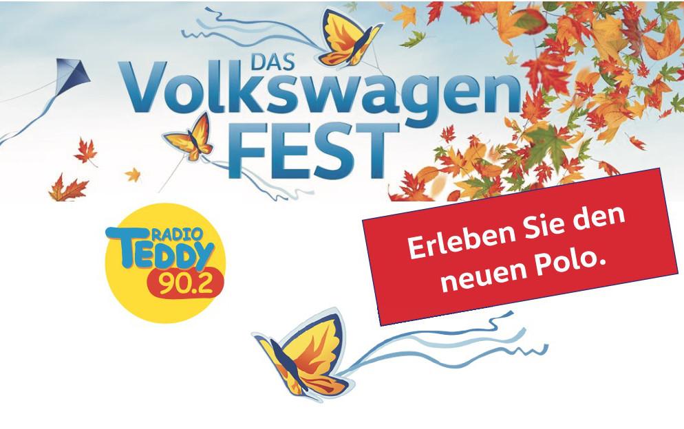 Das Volkswagen Fest. Am 30. September 2017 von 10.00 bis 16.00 Uhr
