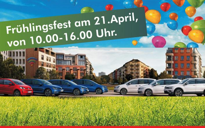 Frühlingsfest am 21. April