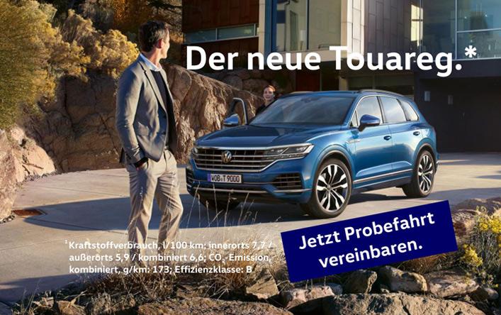Image for Der neue Touareg.
