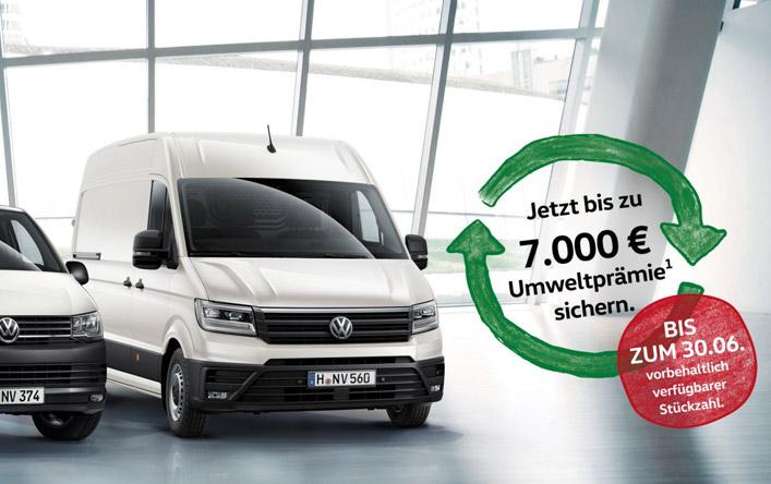 Jetzt bis zu 7.000,- € Umweltprämie sichern<sup>1</sup>.