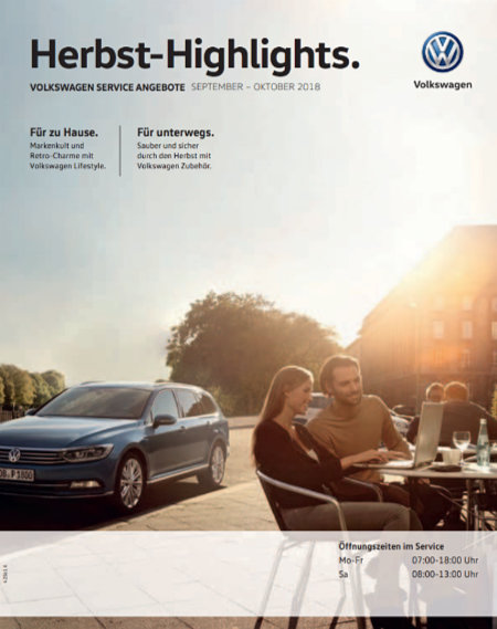Volkswagen Herbst Highlights