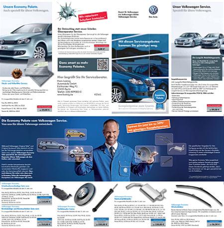 Volkswagen Service Prospekt Herbst