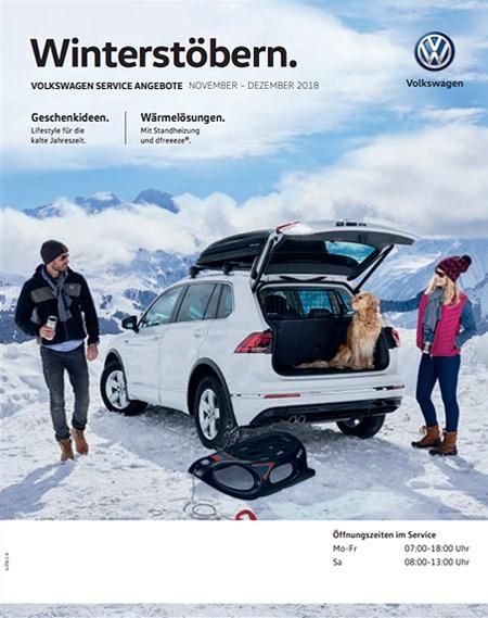 Volkswagen Winterstöbern