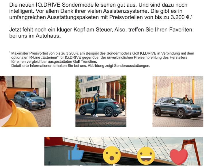 IQ.DRIVE Sondermodelle