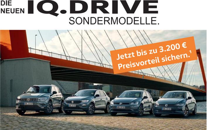 Image for Die neuen IQ.DRIVE Sondermodelle.