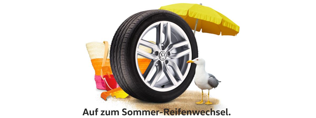 Sommer Reifenwechsel