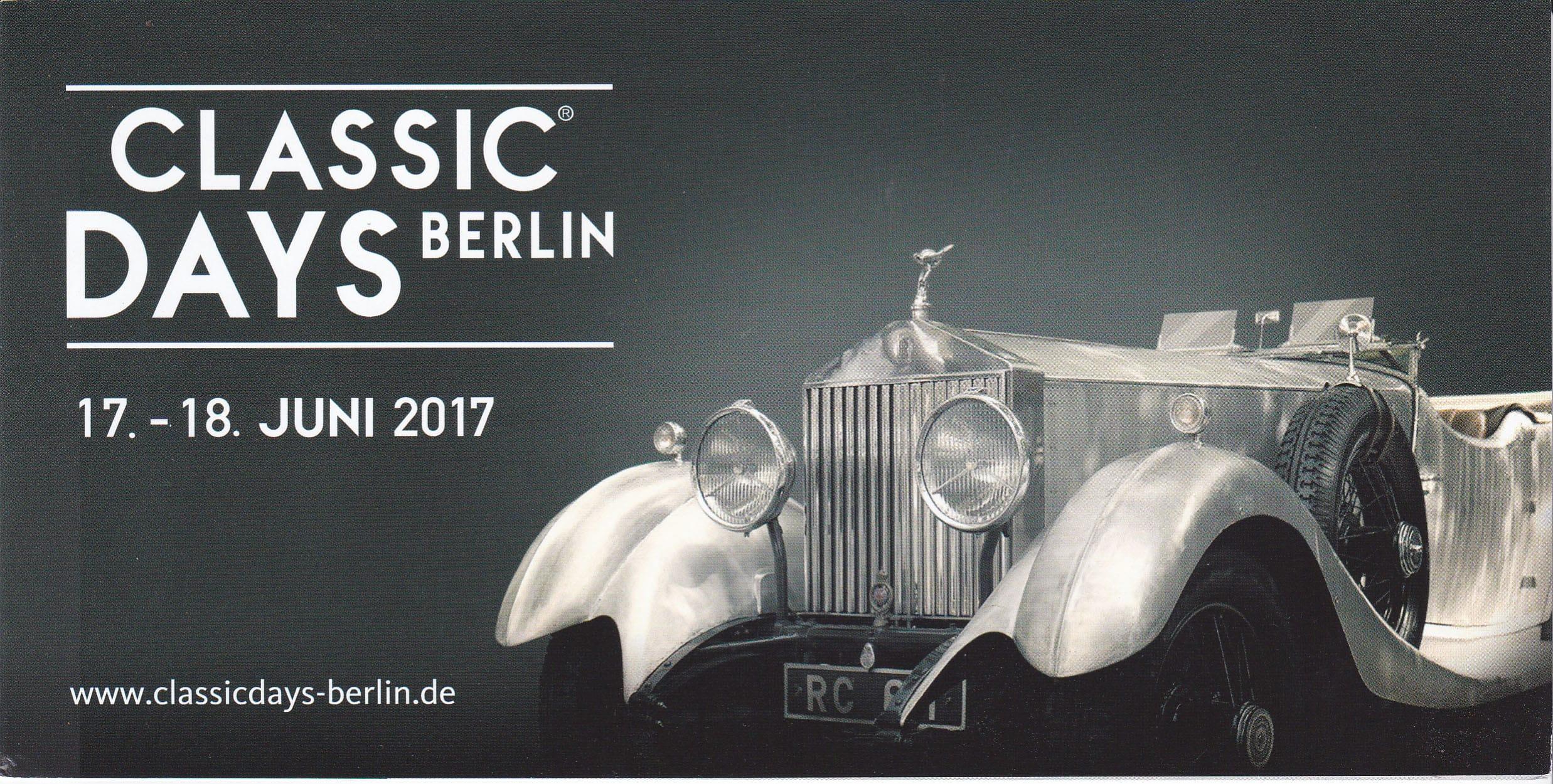 Classic Days Berlin