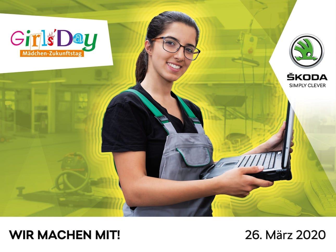 Image for Wir machen mit beim Girls'Day 2020<br>Mädchen – Zukunftstag – am 26. März 2020.