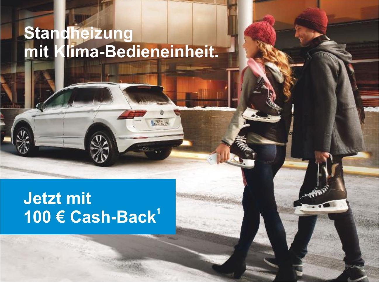 Image for Rein in die Komfortzone. <br>Mit der Volkswagen Zubehör Standheizung.