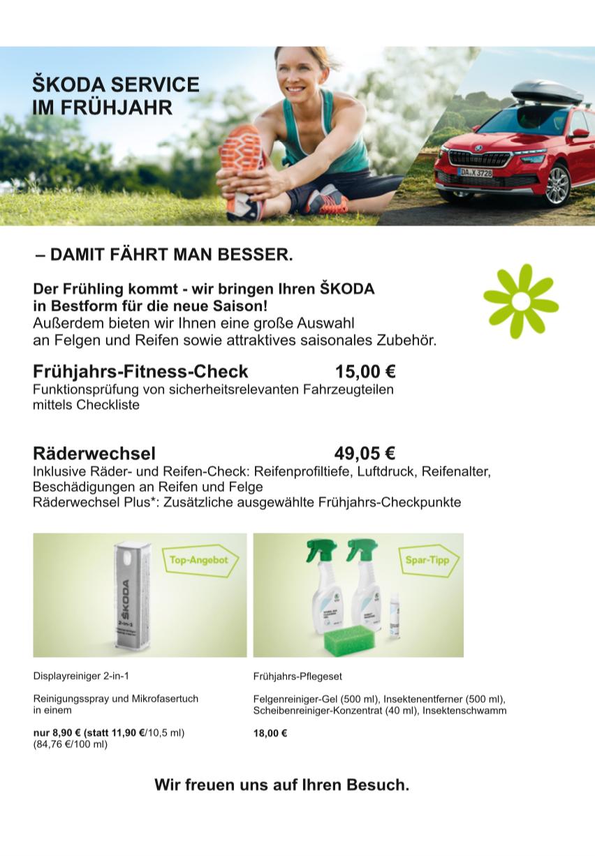 Škoda Service Info