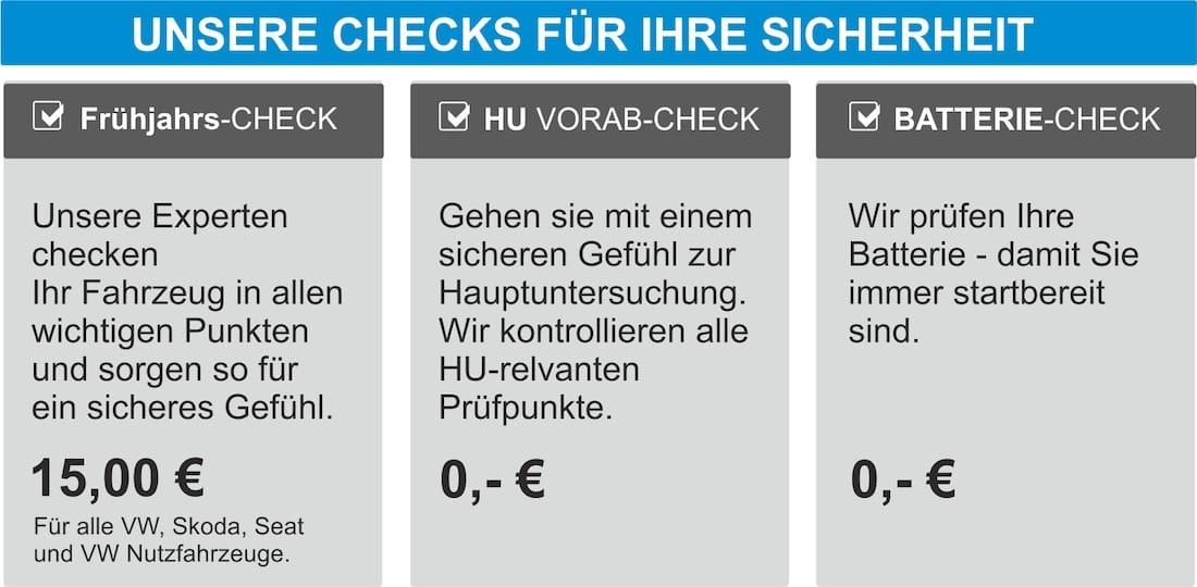 VW Räderwechsel Checks